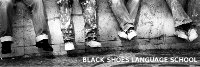Black Shoes Language School Logo