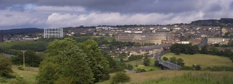 Panorama picture of Brierfield