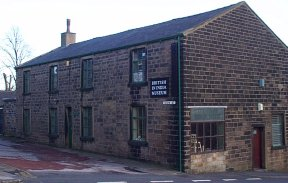 Picture of the British in India Museum on the corner of Newtown Street and Sun Street Street, Colne.