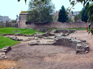 Picture of the Roman bath house #1