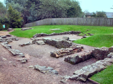 Picture of the Roman bath house #2